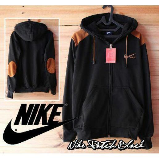Jaket/ Sweater Nike Elbow Hitam Bigsize/Jumbo Xl-Xxl - Uj6tpk