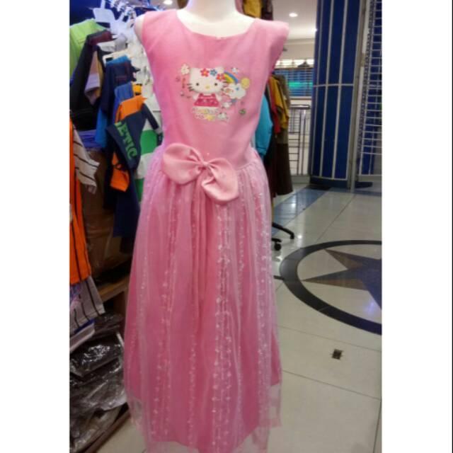 Gaun Hello Kitty 8 Sd 10 Th