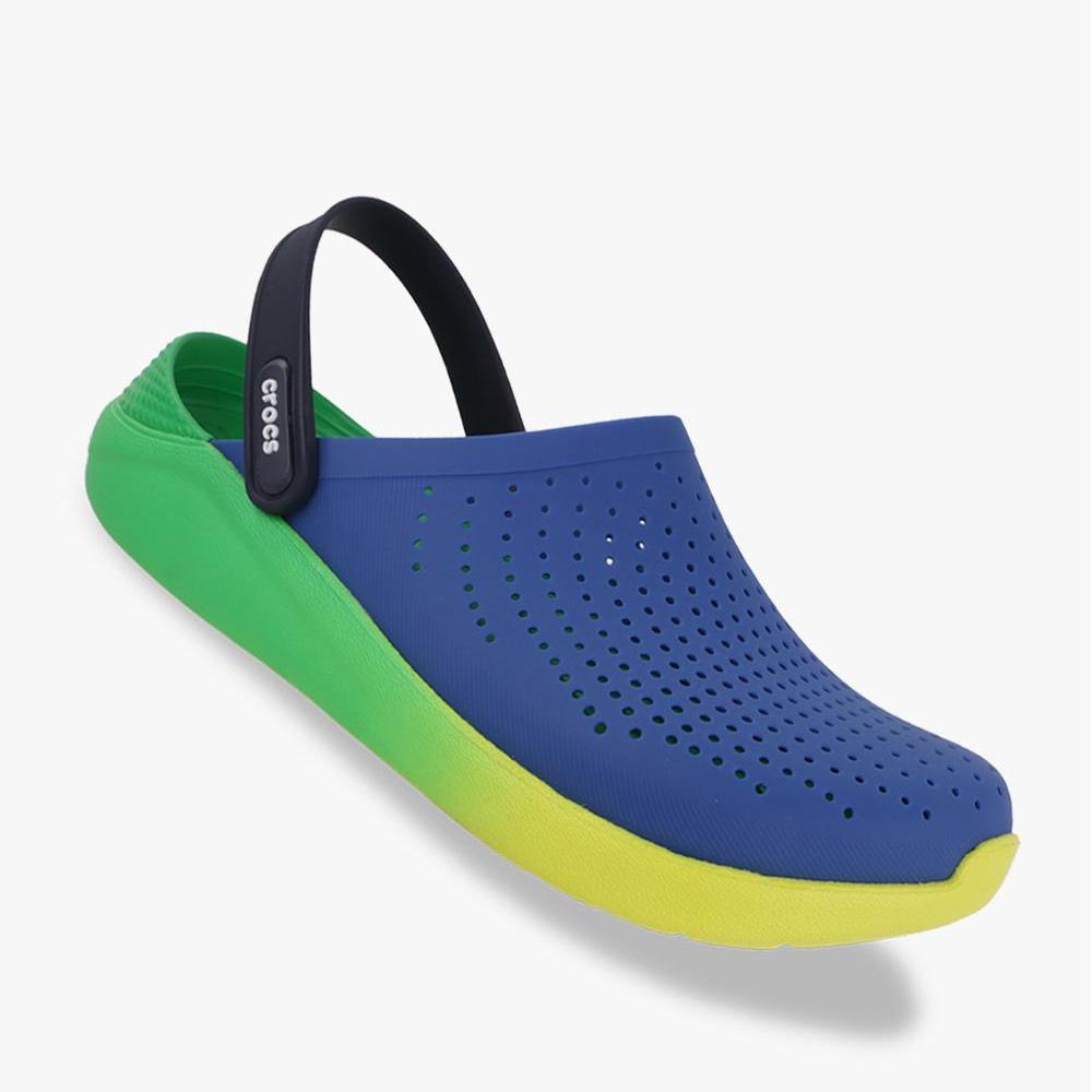 Crocs LiteRide Graphic Clog Unisex Sa - Blue - PSNET178