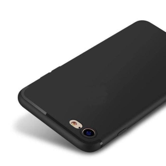 Slim Silicone Oppo F1s Softcase Case Soft Casing Silicon - HITAM