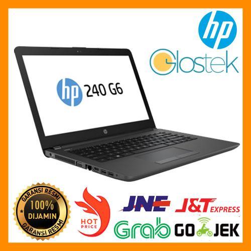 Laptop/ Notebook Hp 240 G6, core i3, win 10, Murah, Garansi resmi