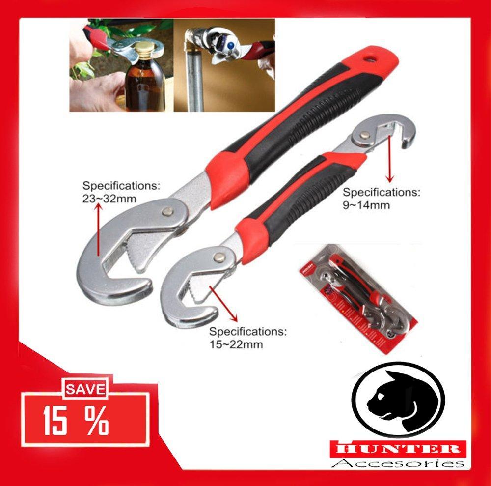 Kejutan Kesepakatan Menyimpan Promosi Kunci Inggris Multifungsi 1 Set Isi 2 Pcs