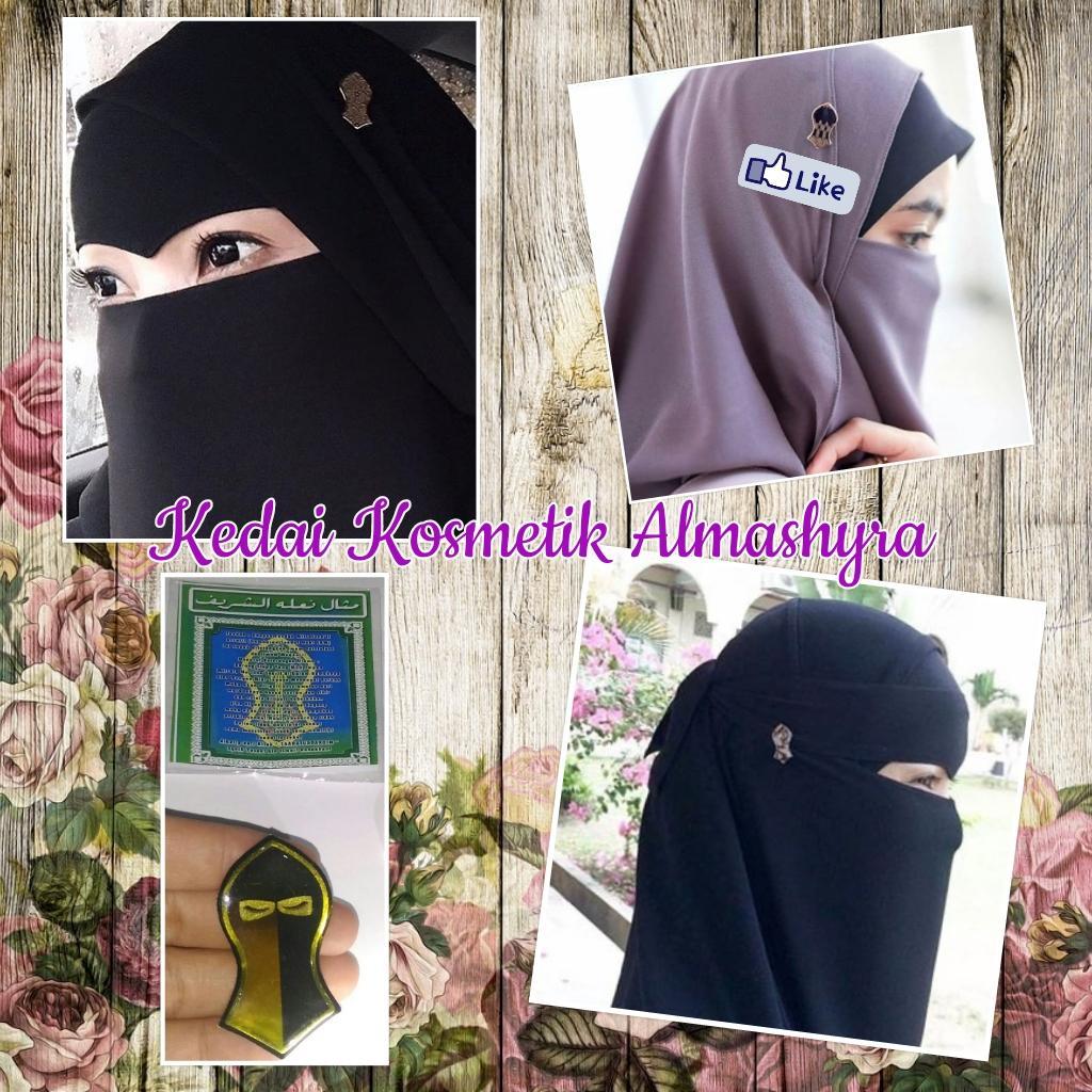 Pin Hijab/Jilbab/Niqab/Purdah/Cadar Terompah