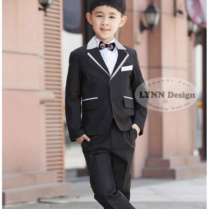 Lynn Design - Setelan tuxedo jas formal anak cowok/ laki laki 2- 10 tahun