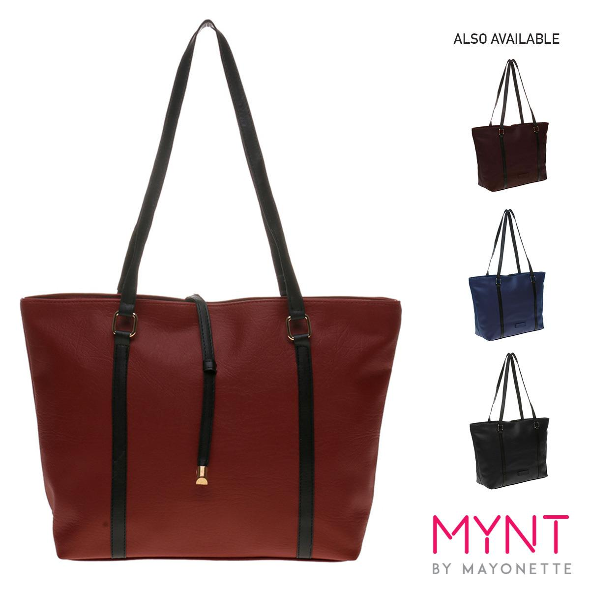 MYNT by Mayonette Tas Fashion Wanita Totes Shoulder Casual PU Leather Best Seller Women Bags Largo