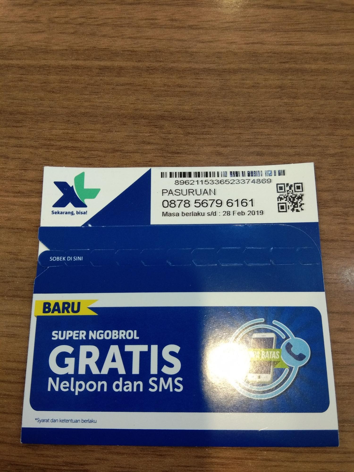 Xl Axiata Nomor Cantik 0878 808 808 38 Daftar Harga Terbaru Indonesia Source · NoCan 0878