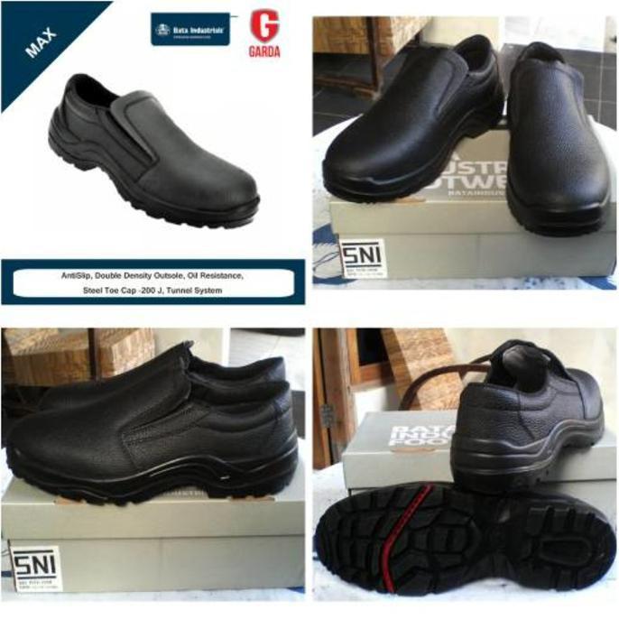 Sepatu Safety / Proyek Bata Industrial Max - 4Byzoq