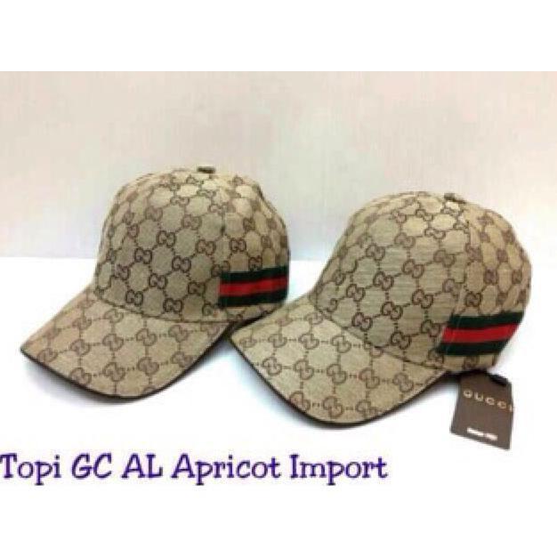 Topi Gucci Al Ghazali Import Apricot / Cream - 31Sifi