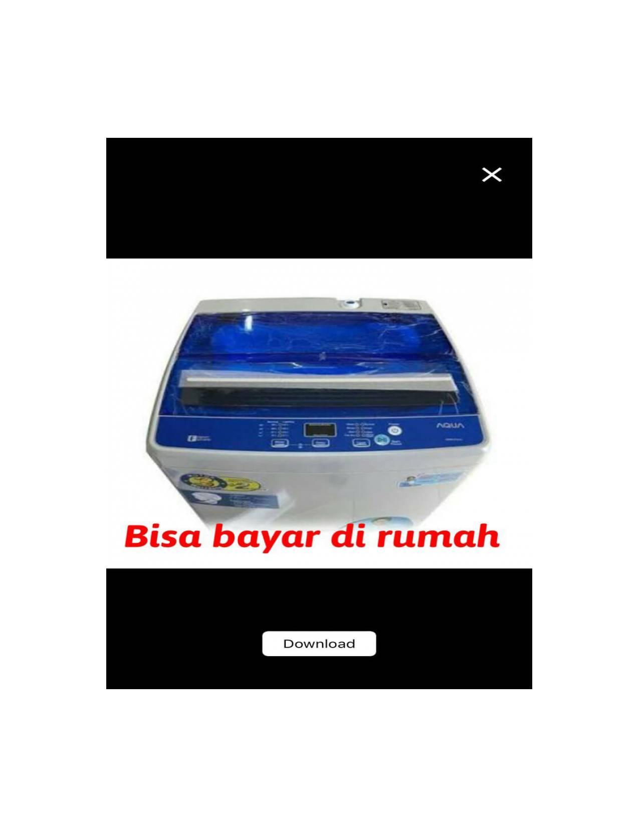 Mesin Cuci 1 tabung Sanyo Aqua AQW77DH