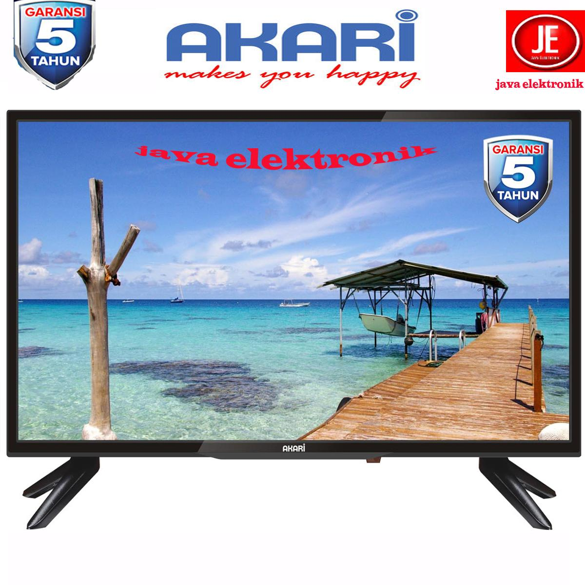 AKARI HD Ready w/ USB Movie LED TV 32 - 32V89 - 5 tahun garansi resmi