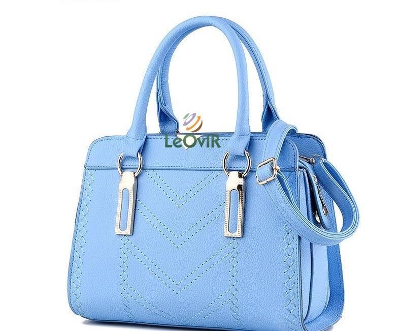 Tas Branded Wanita - Top-Handle Bags - PU Leather - 83627