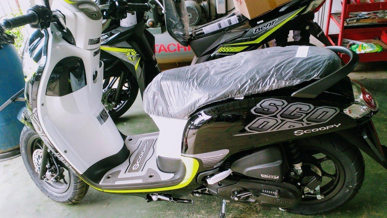 Fitur Kredit Motor Honda Scoopy Esp All New 2018 Jabodetabek Dan