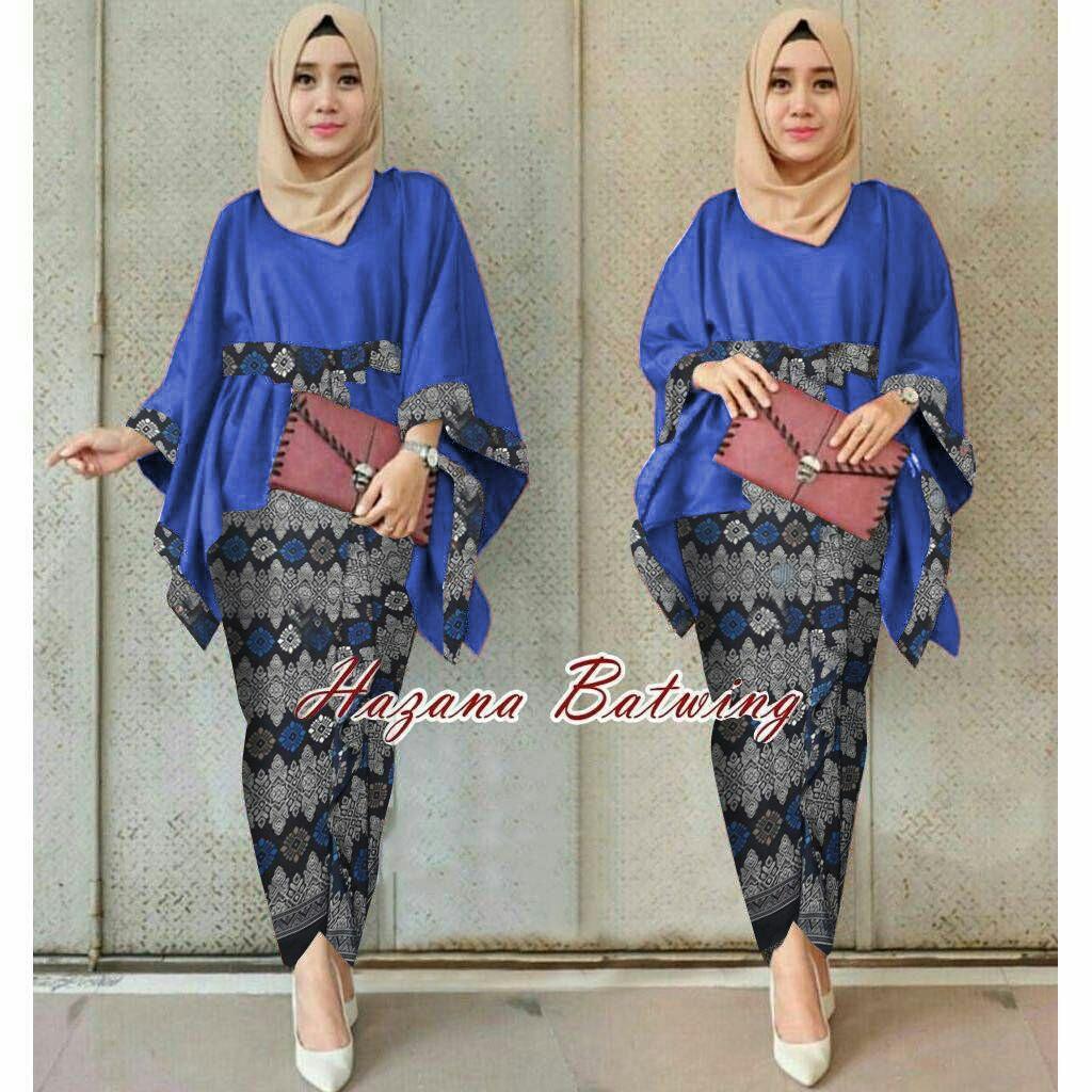 Jakarta Couple - Stelan Hasana  /Baju Gamis Muslim/ Gamis Mutiara / Gamis Murah / Atasan Muslim Wanita / Pakaian Baju Muslim