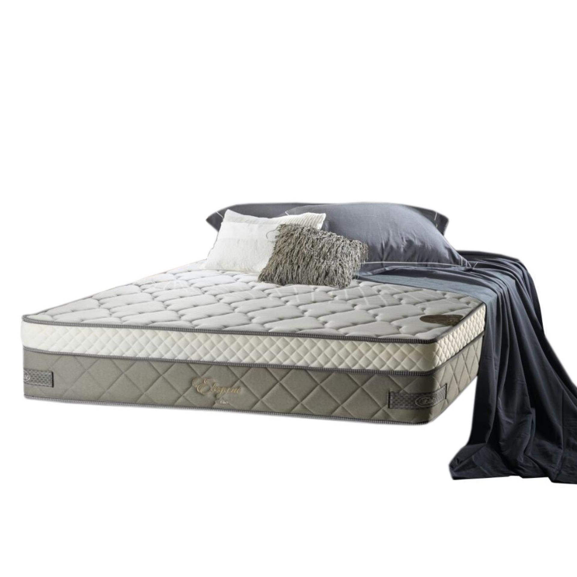 Elite Springbed Elegant Everflex Spring With Plush Top Size 160 x 200 - Mattress Only - Khusus Jabodetabek