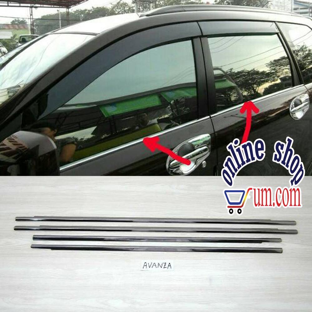 Fitur Body Cover Sarung Mobil Warna All New Avanza Xenia Veloz Dan List Kaca Samping