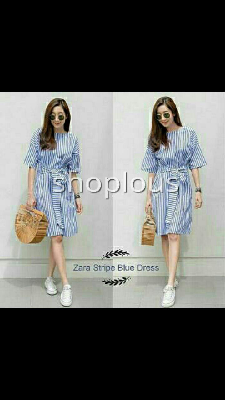 Shoplous dress jumbo / Dress salur/ Dress Zaraa/dress zaraa import/ drsss import/ dress unik/ dres ukuran besar/ dress hamil/ dress kaluitas bagus