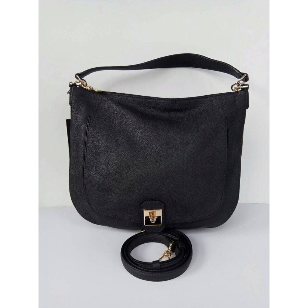 Jual Tas Furla Original Leather Jo Hobo Onyx