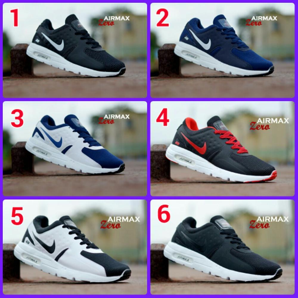 Promo Sepatu Sport Pria Nike Airmax Zero (Sepatu Santai, Sepatu Jalan, Sepatu Sekolah, Sepatu Joging, Sepatu Kulit, Sneaker, Slip On, Olahraga, Sepatu Kerja, Pria, Wanita, Anak)  Diskon