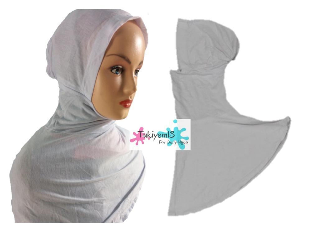 Ciput Ninja Dalaman Jilbab Kerudung Hijab Pashmina Khimar Antem Ninja Resleting Kaos - tukiyem13