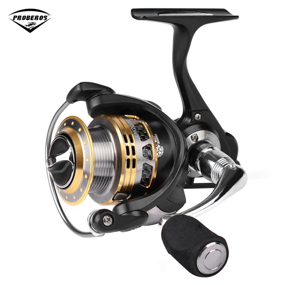 PRO BEROS 13 + 1BB Lightweight Metal Fishing Tackle Spinning Reel