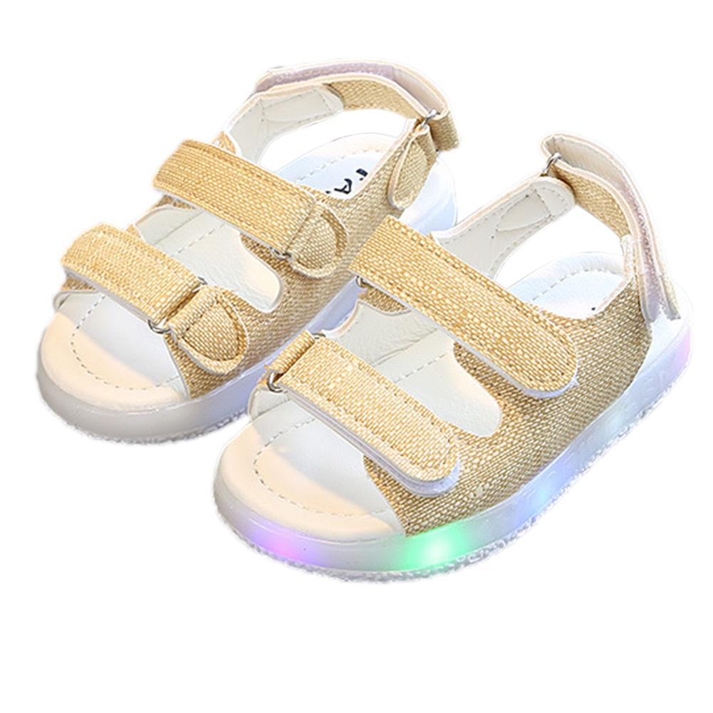Baby Boys Sandals LED Luminous Lighting Sneakers For 1-6Y Kids