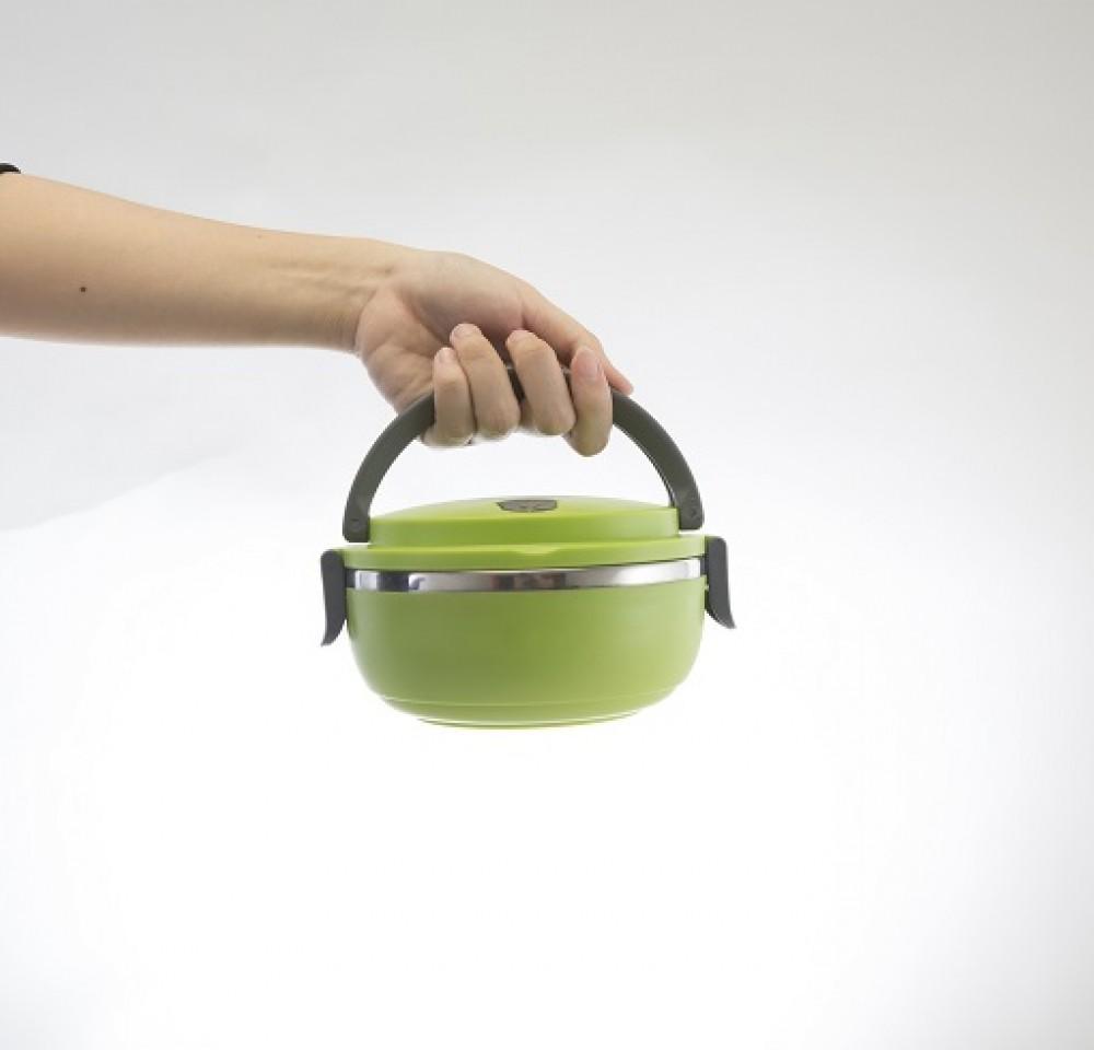 Fitur Tempat Makan Lunch Box Smart Mom Food Container Set Hijau Dan Kootak Maakan Tosca Detail Gambar Terkini