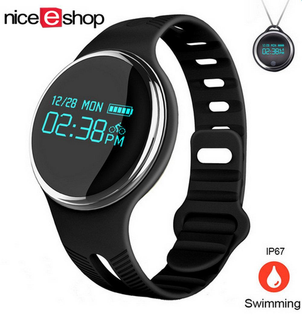 NiceEshop E07 Bluetooth 4.0 Smart Band For Tidur, Olahraga, Pengukur Aktivitas, Notifikasi Telepon,