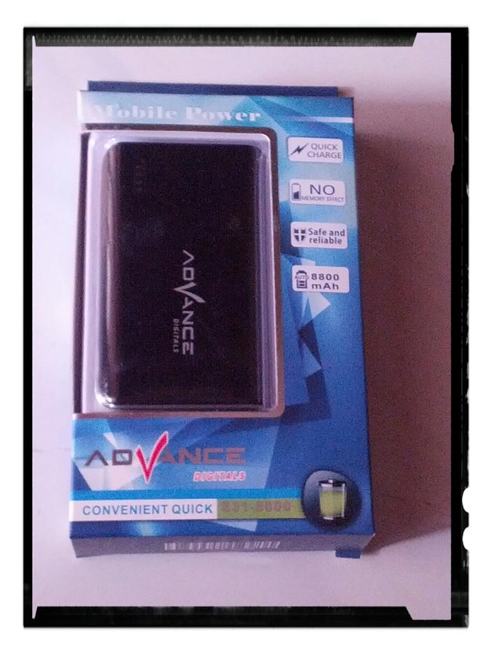 Powerbank advance 8800 mah powerbank 8800mah new digital