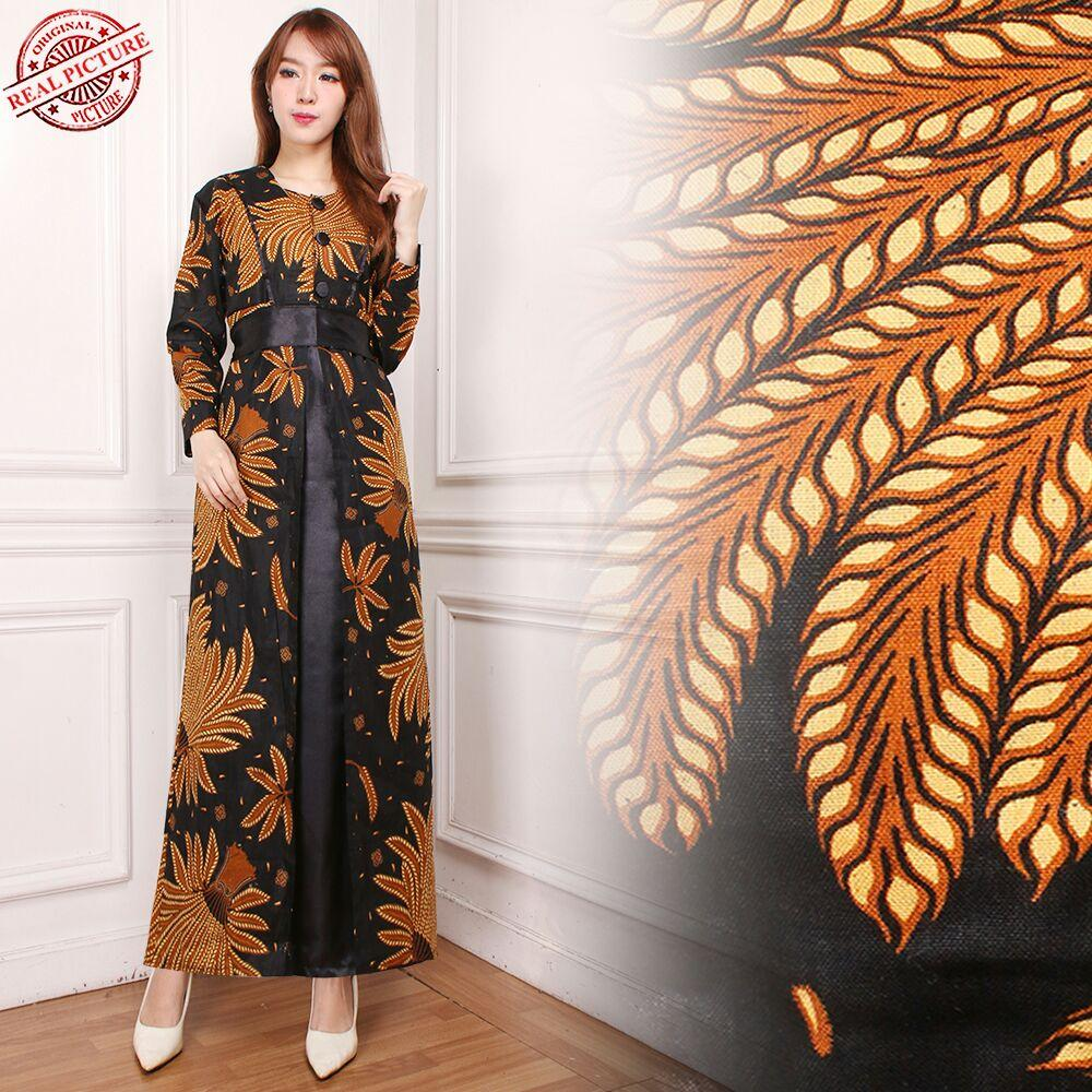 Cj collection Dress maxi panjang gamis kaftan wanita jumbo long dress Mezty