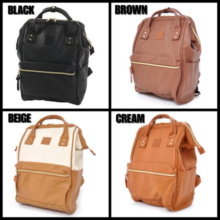 Anello Rucksack Leather Size L (ORIGINAL) / KULIT - TAS PRIA / WANITA - Da5bjN