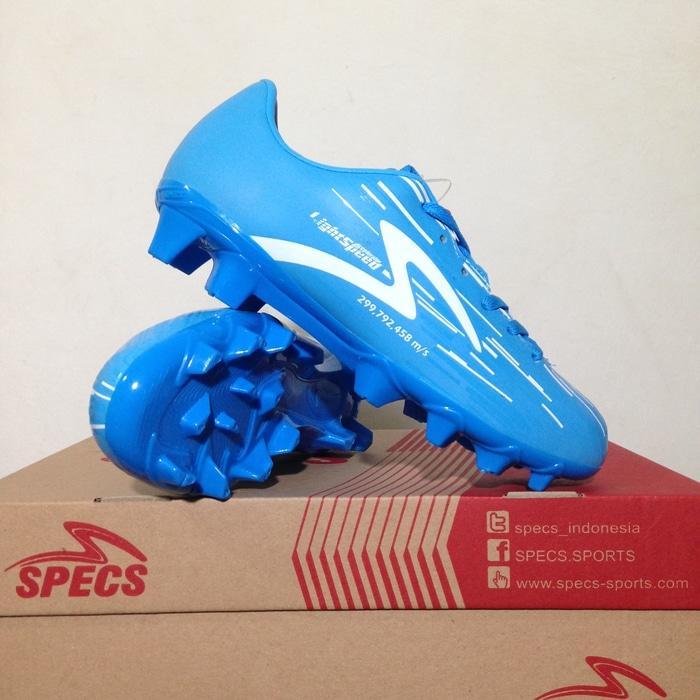 Sepatu Bola Anak Specs Accelerator Lightspeed Junior Blue 100735 Ori - SntzsU