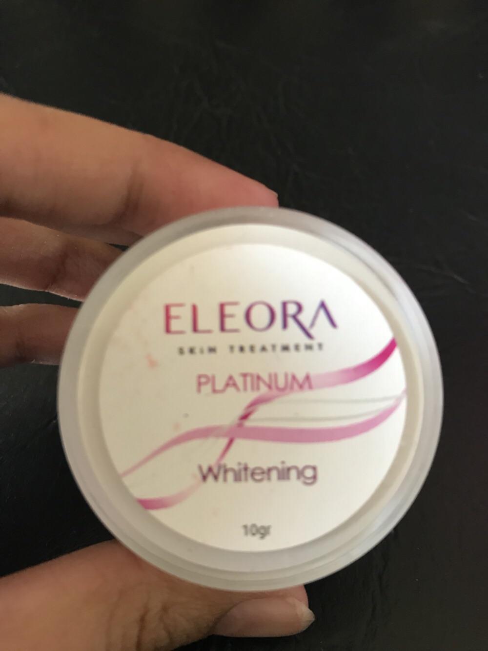 Fitur Eleora Platinum Dan Harga Terbaru Informasi Produk Anti Aging Melasma Cream Whitening Malam