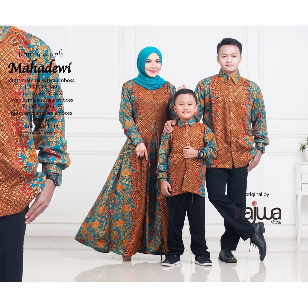 Update Baju Couple Keluarga Gamis Anak Original By Ori Najwa Dan