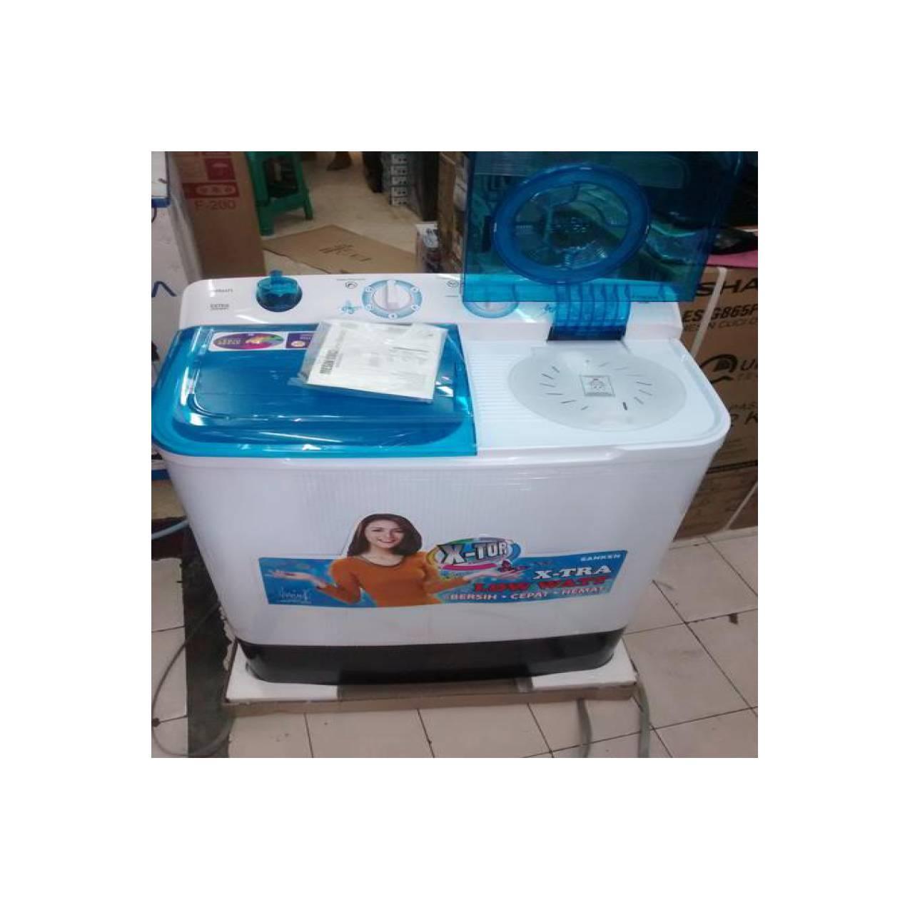 Katalog Harga Mesin Cuci Sanken 8 Kg November 2018 Paling Laris Tw8700 Gratis Biaya Pengiriman Tw 822 2tabung 8kg Low Watt Tutup Transparan