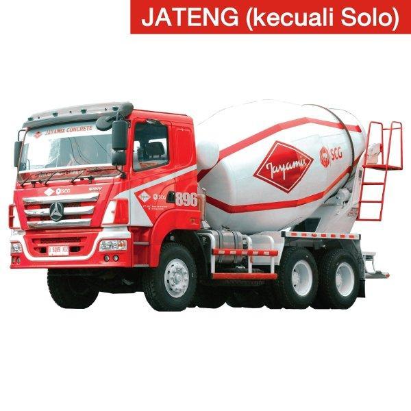 Beton Jayamix Super Concrete K250 - Truck Mixer Besar -JATENG KECUALI SOLO-