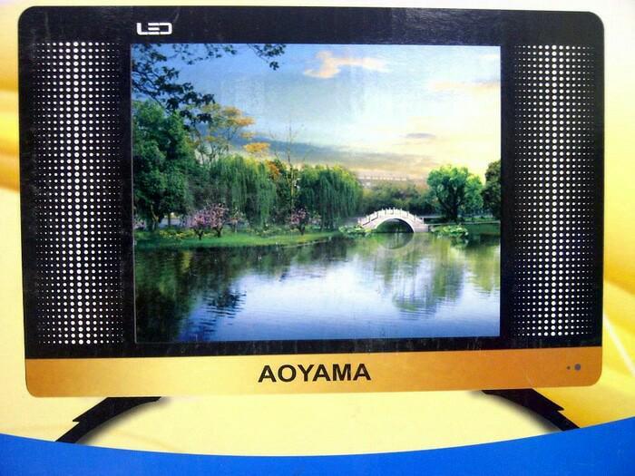 Monitor / TV LED AOYAMA 17 Inch dengan Antena internal Dalam ( USB Movies - HDMI - VGA ) Bisa Sebagai TV atau Monitor 17 TERMURAH 1 PCS