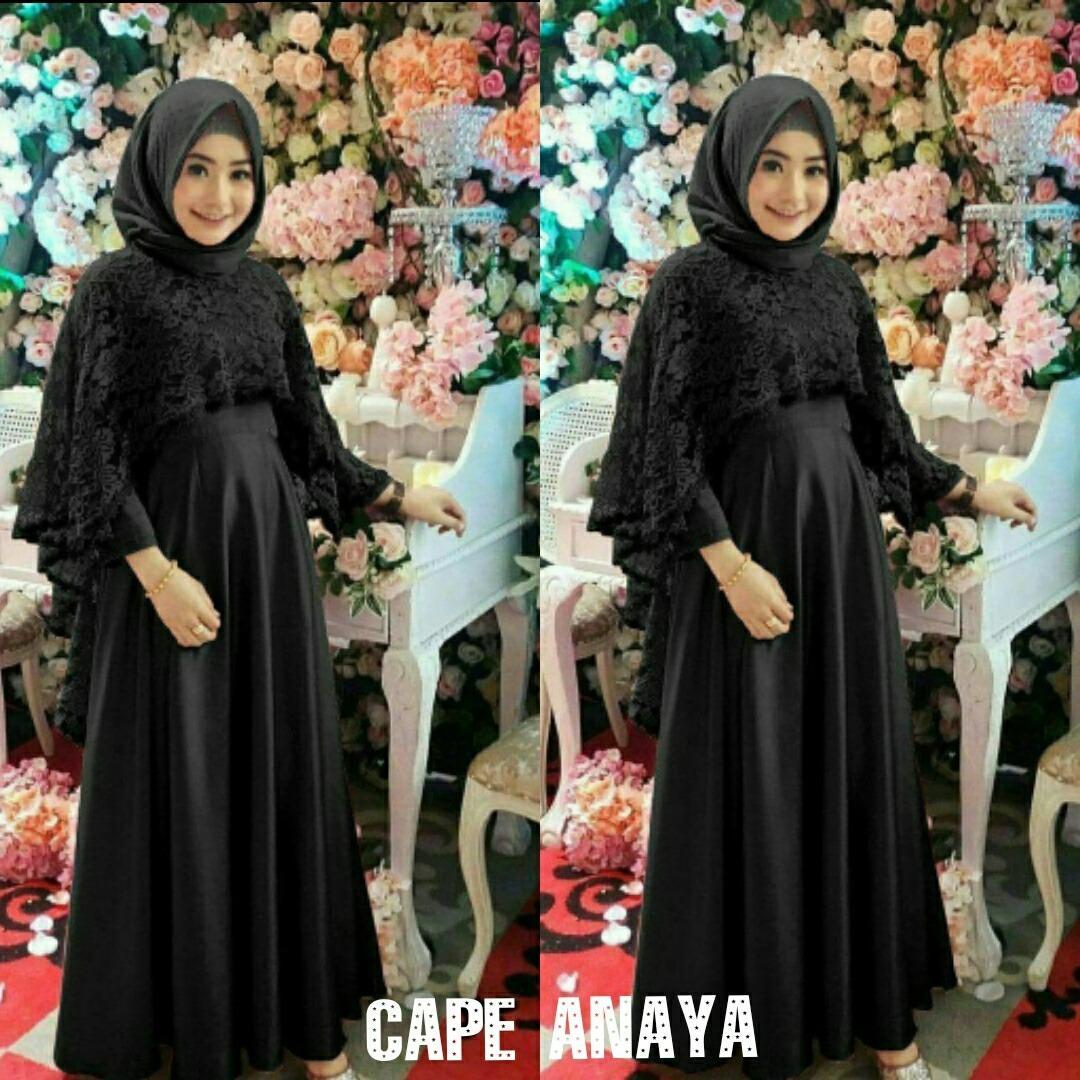 DoubleC Fashion Cape Anaya Maxi / Gamis