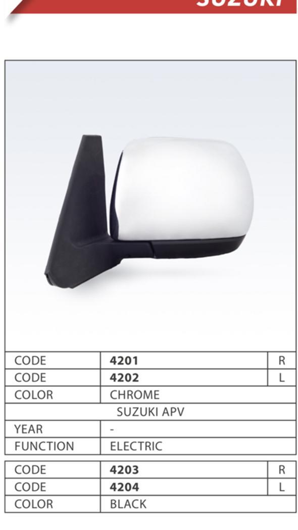Spion Suzuki APV elektrik hitam LH emgi 4204 -55115-