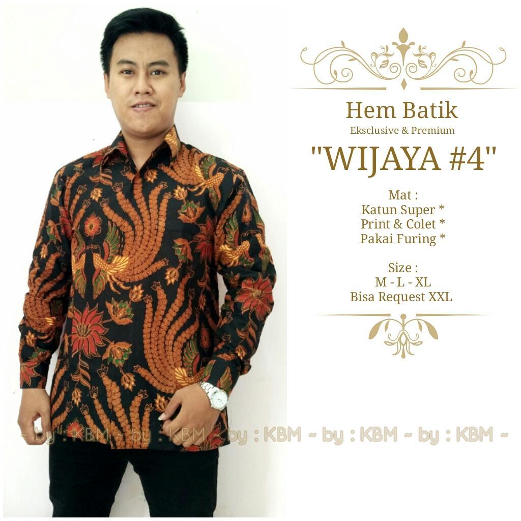 promo kemeja hem batik eksclusive dan premium wijaya#4