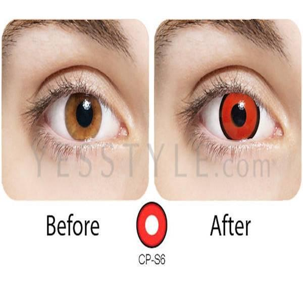 Promo Softlens Geo Crazy Anime Cosplay CP-S6 Naruto Series