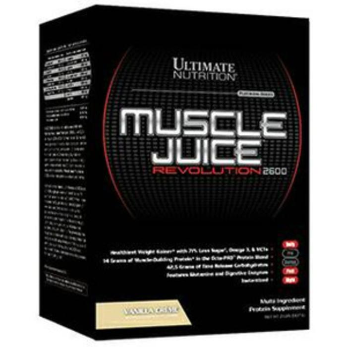 Ultimate Nutrition Muscle Juice Revolution Box 2 lbs - Urp4wH