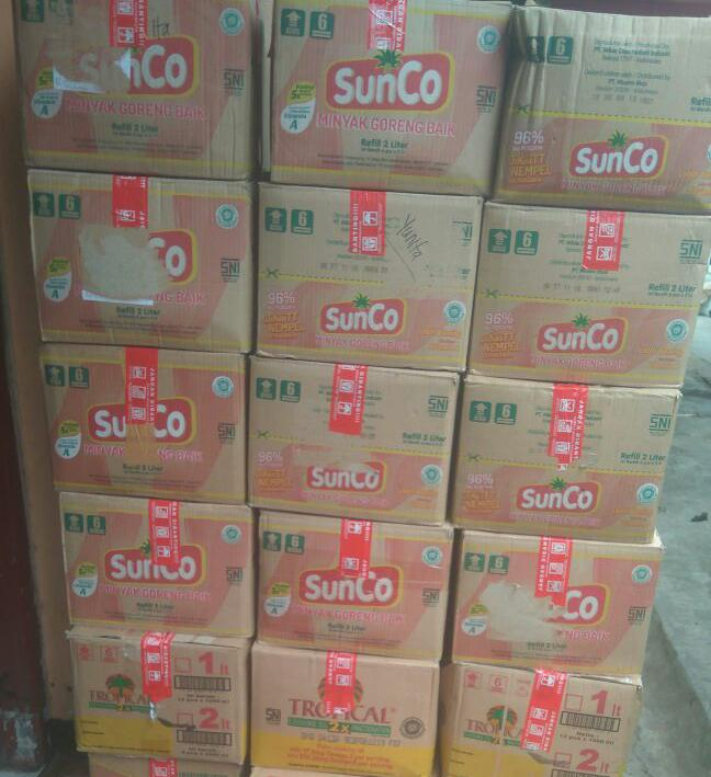 Minyak Goreng Sunco 2L Tropical 2L kartonan isi 6pc