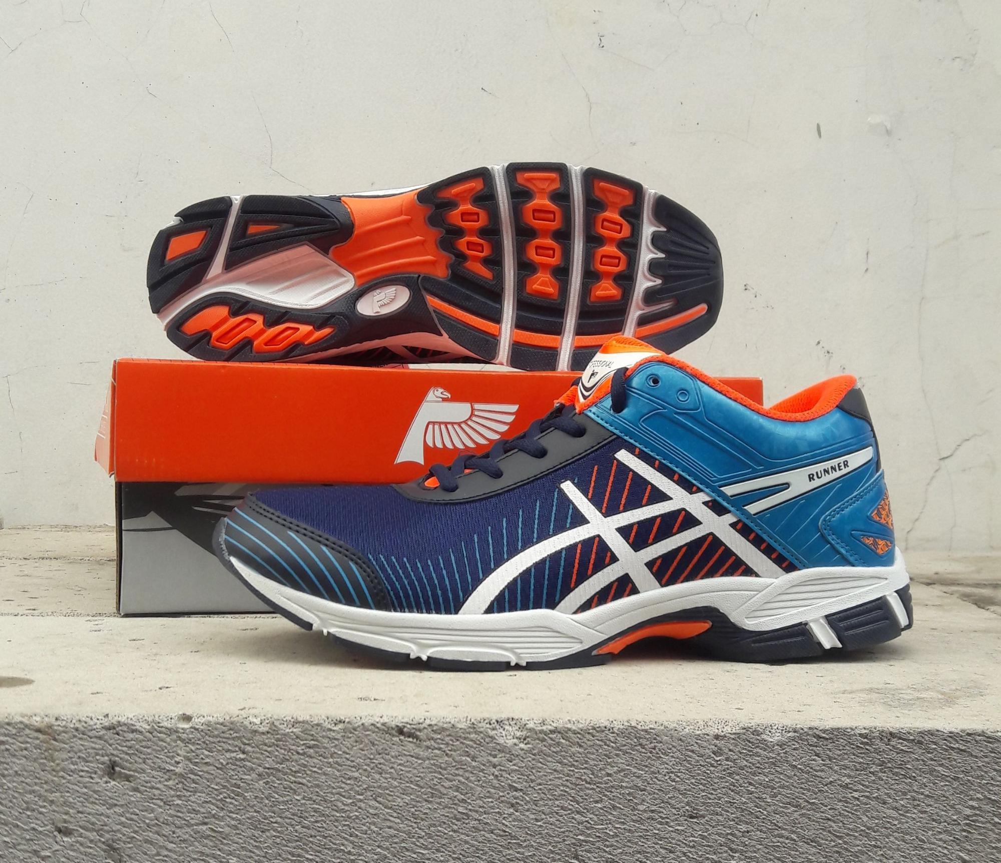 Sepatu volly profesional japan.sepatu running jogging.fasion cowok