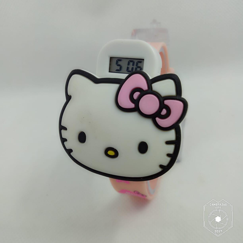 Jam Tangan Anak - Hello Kitty