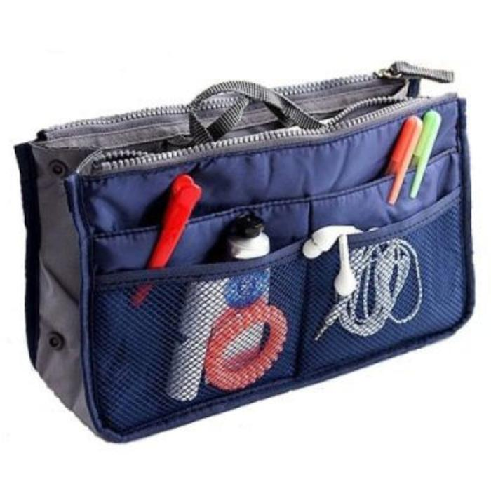 EDW 019 Korean Dual Bag Tas Organizer Tas Ipad Tas Multifungsi