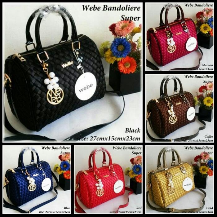 Tas Wanita Branded Impor Webe Bandoliere/Webe Bags Murah - VFFDBE