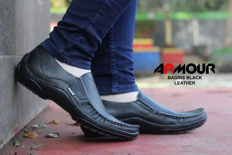 Tiongkok. Sepatu Casual Pria armor Kickers Terbaru Full Kulit 4ab074819d