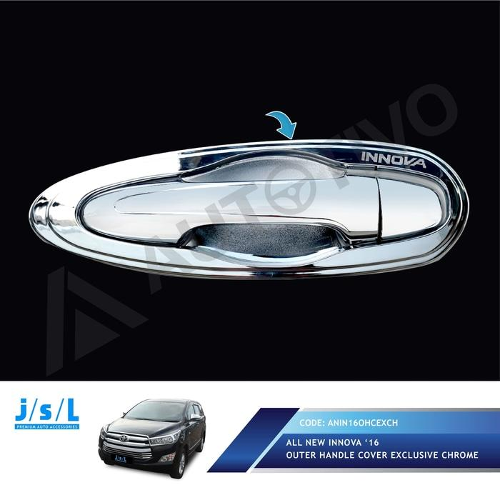 All New Innova Outer Handle Cover Exclusive Chrome JSL