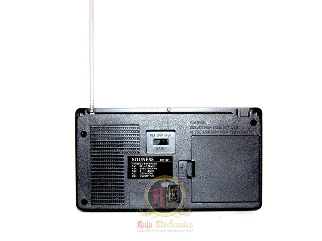 Souness SNI-3750 Radio AM FM SW .