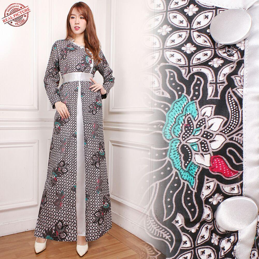 Cj collection Dress maxi panjang gamis kaftan wanita jumbo long dress Inaya